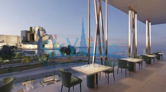 1 Bedroom Apartment for Sale in Saadiyat Island, Abu Dhabi - OWN A HIGH END 1BR apt with amazing views