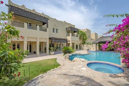 فیلا 5 غرفة نوم للبيع في السهول، دبي - Immaculate L1 on the Lake - vacant on transfer