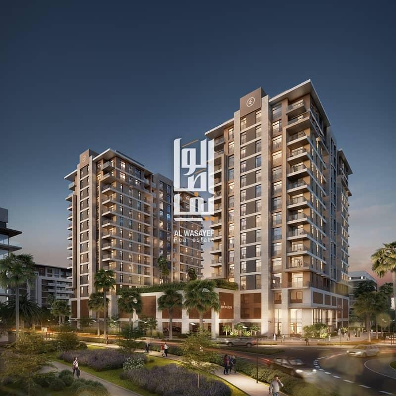 2 luxury apartment in meydan  10% booking