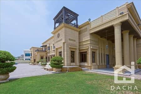 7 Bedroom Villa for Sale in Palm Jumeirah, Dubai - Exclusive One of a Kind / High Number / Bespoke MANSION