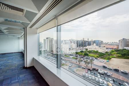Office for Rent in Deira, Dubai - Fitted Office | Mid Floor | Incl Chiller