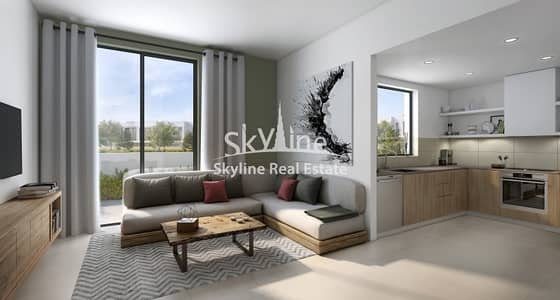 3 Bedroom Flat for Sale in Al Ghadeer, Abu Dhabi - Own a high end 3BR apt with amazing views