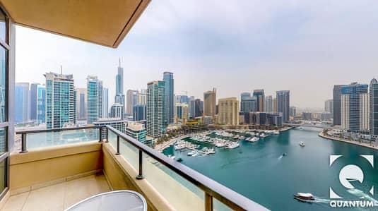 فلیٹ 2 غرفة نوم للبيع في دبي مارينا، دبي - 2BR | Full Marina View | Best Layout!