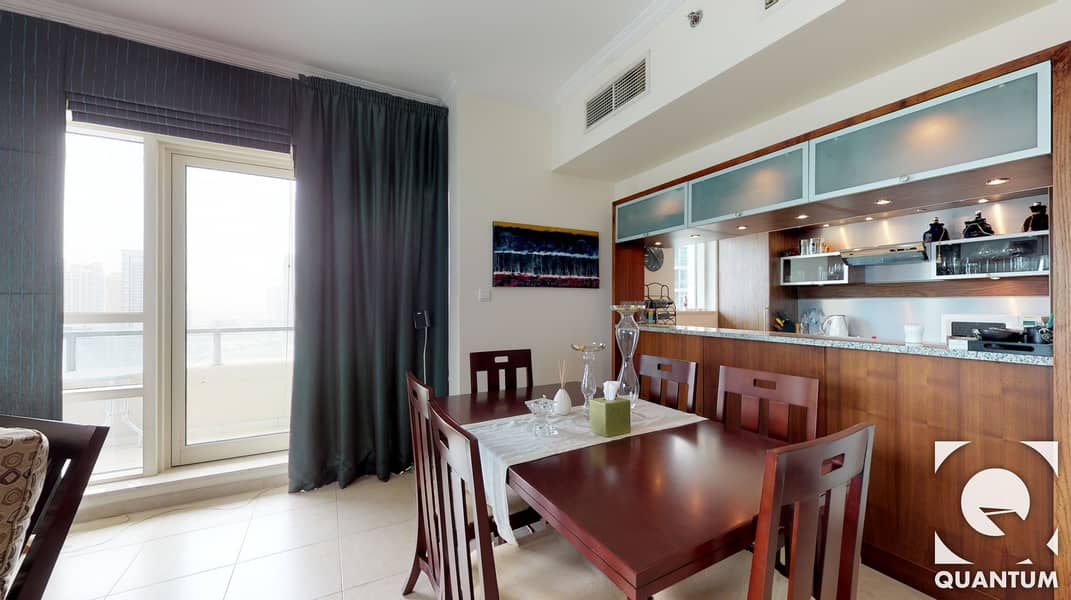 11 2BR | Full Marina View | Best Layout!