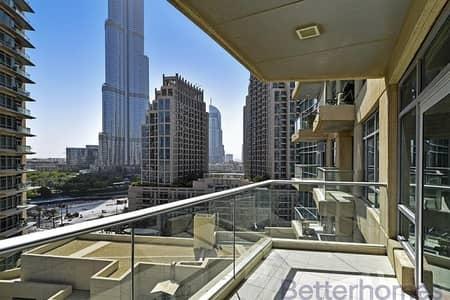 1 Bedroom Apartment for Sale in Downtown Dubai, Dubai - Burj View   Vacant on Transfer   Balcony