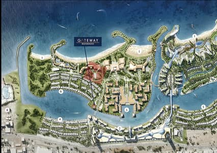 2 Bedroom Apartment for Sale in Mina Al Arab, Ras Al Khaimah - 5 years payment plan , Amazing 2 Bed Sea View in Gateway Residences