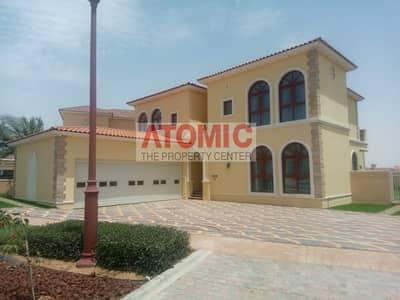 5 Bedroom Villa for Sale in Jumeirah Golf Estate, Dubai - Hacienda Style | 5 Bed Plus Maids | Lake View