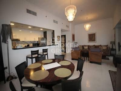 فلیٹ 3 غرفة نوم للايجار في دبي مارينا، دبي - Fully furnished | Luxury 3 BR | Sea View