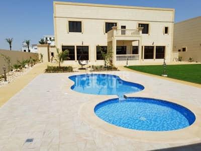 فیلا 5 غرفة نوم للايجار في الخوانیج، دبي - Brand New 5br Villa with swimming pool / left