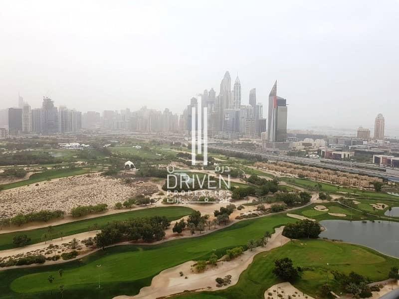 Golf Views 2 Bed Unit | High Floor Level