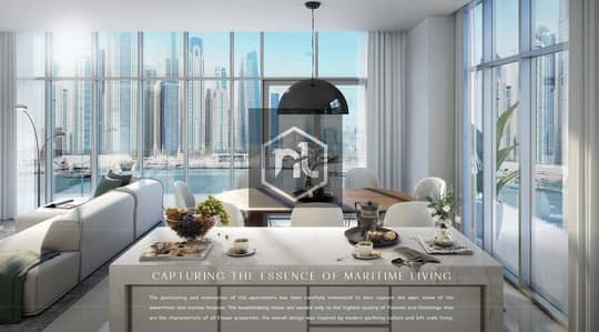 2 Bedroom Flat for Sale in Dubai Harbour, Dubai - Gorgeous 2Br in  Marina Vista with a magical view