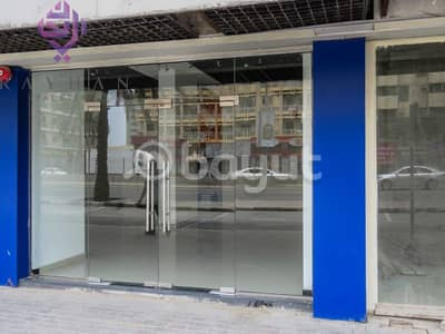 Shop for Rent in Al Wahda Street, Sharjah - SPACIOUS SHOP AVAILABLE /DIRECT FROM OWNER/ NO COMMISSION/NEGOTIABLE PRICE