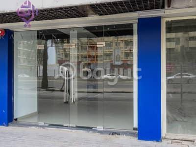 محل تجاري  للايجار في شارع الوحدة، الشارقة - SPACIOUS SHOP AVAILABLE /DIRECT FROM OWNER/ NO COMMISSION/NEGOTIABLE PRICE