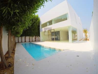 4 Bedroom Villa for Rent in Jumeirah, Dubai - Unique Contemporary and Modern 4BR+Maids Villa