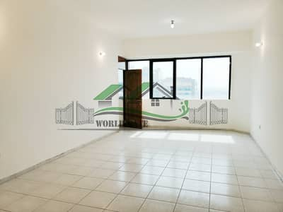3 Bedroom Flat for Rent in Electra Street, Abu Dhabi - CHEAPEST 3BR APT W/ MAID'S ROOM AND BALCONY
