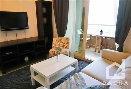 1 Bedroom Flat for Rent in Dubai Marina, Dubai - Fully furnished 1 bedoom in Manchester