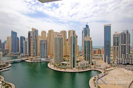 3 Bedroom Apartment for Rent in Dubai Marina, Dubai - 3 Bedrooms   Upgraded   Fully Furnished