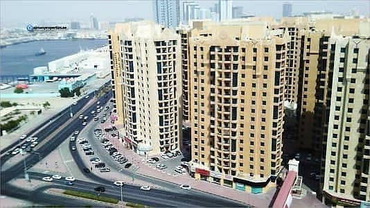 Big 1 Bhk apartment with closed kitchen for Sale in al Khor Tower 195000
