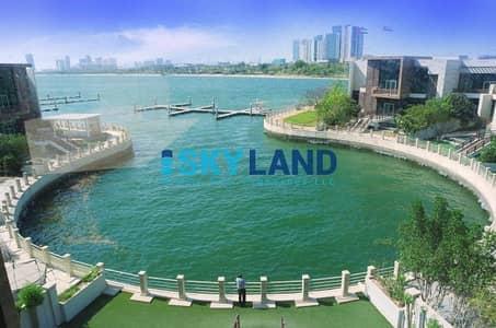 فیلا 5 غرفة نوم للايجار في المقطع، أبوظبي - Full sea view