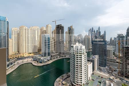 1 Bedroom Apartment for Sale in Dubai Marina, Dubai - Fully Furnished | 13 Type 1BR | Full Marina View