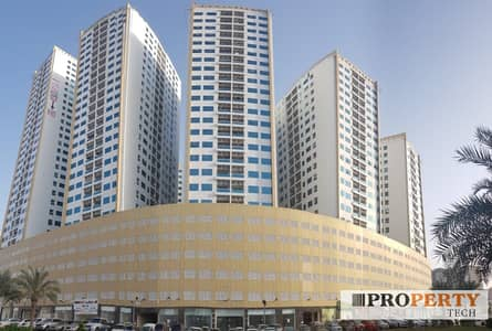 مکتب  للايجار في عجمان وسط المدينة، عجمان - 3 Months Free - Office Space / Shops Are Available For Rent in Pearl Towers, Ajman