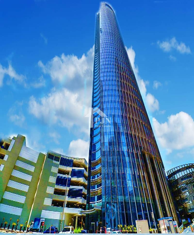 2 Hot Deal: Shell and Core Office For Sale In Addax Tower...