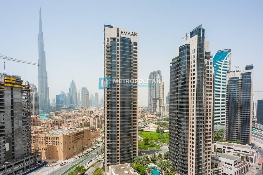 Luxury 1 Bedroom with Burj Khalifa Views