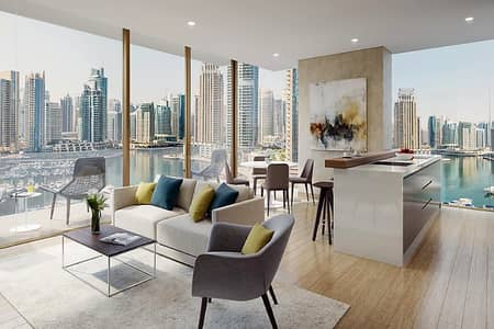 2 Bedroom Apartment for Sale in Dubai Marina, Dubai - Luxurious 2BR | 5 Years Payment Plan | No DLD
