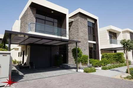 4 Bedroom Villa for Sale in DAMAC Hills (Akoya by DAMAC), Dubai - FULLY FURNISHED/4 BEDROOM+MAID/PARAMOUNT VILLA/PAYMENT PLAN