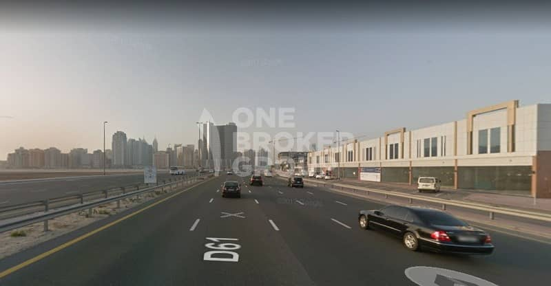 2 Showroom plots|Freehold|Payment plan|G+1