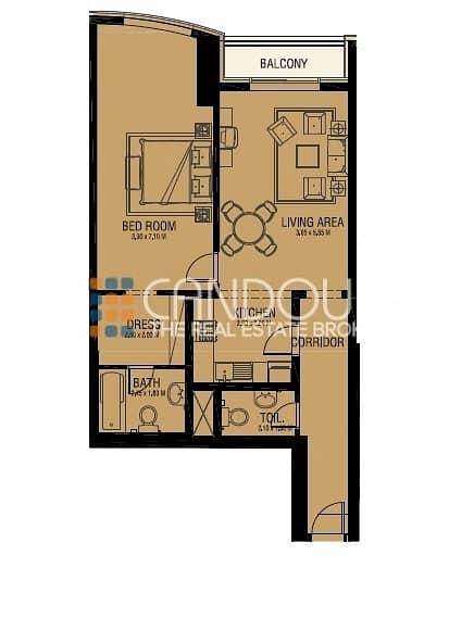 11 Large 1 Bedroom | Unbeatable Price | 1 Parking