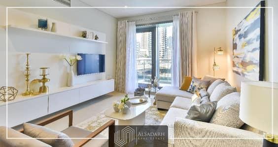فلیٹ 1 غرفة نوم للبيع في دبي مارينا، دبي - Skyline Marina View - Sparkle Towers