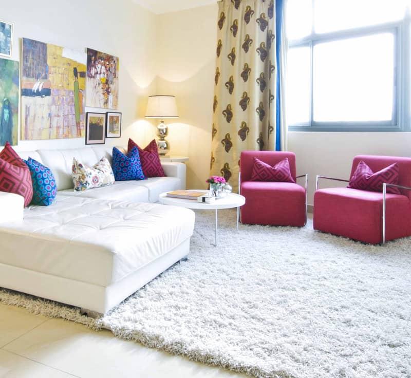 Delightful high floor 2 bedroom apartment for rent in Links West Tower