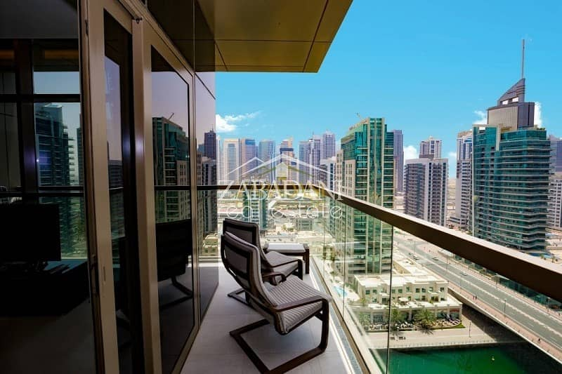 13 2 Bed Furnished Corner Unit With Full Marina View