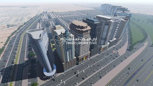 commercial land on mail road only 645000 aed