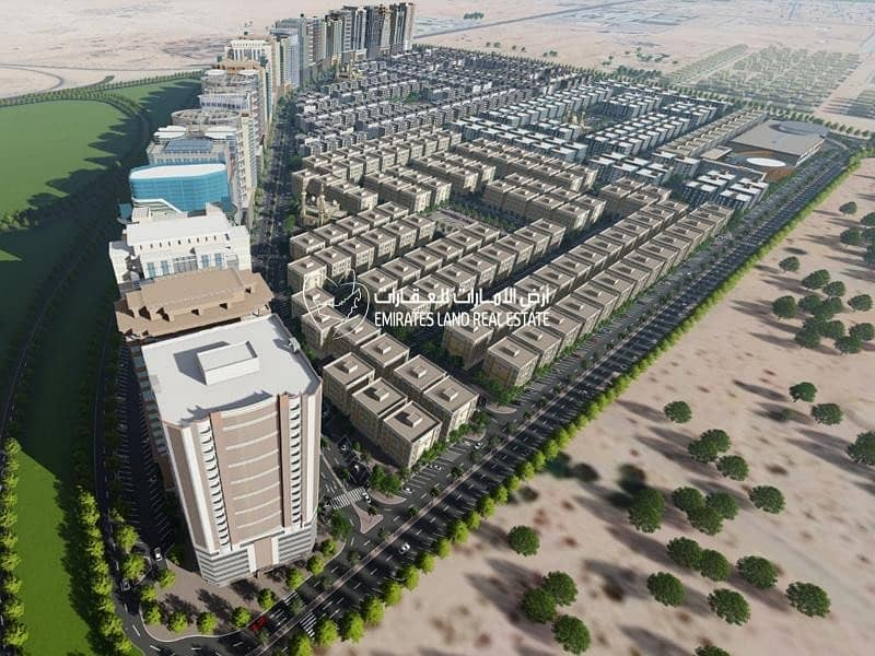 For all national - own your commercial land in ajman  (24  installments )