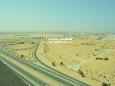 Plot for Sale in Al Aaliah, Ajman - For sale - commercial land G+4 on main road in Ajman