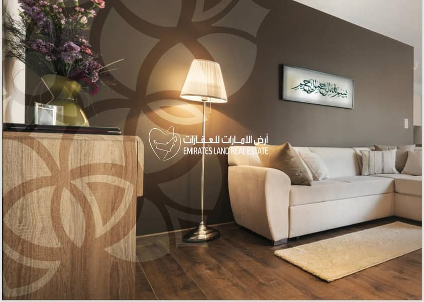 1  own an apartment in Al  Nahda