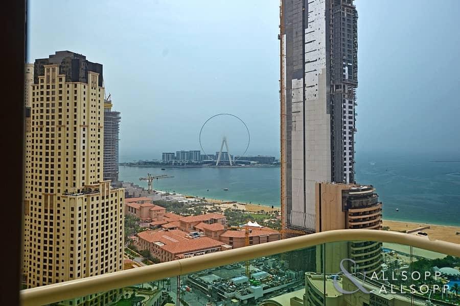 Full Sea Views | 2 Bedrooms | High Floor