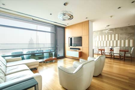 2 Bedroom Flat for Sale in DIFC, Dubai - Upgraded | Two Bedroom | Burj Khalifa View