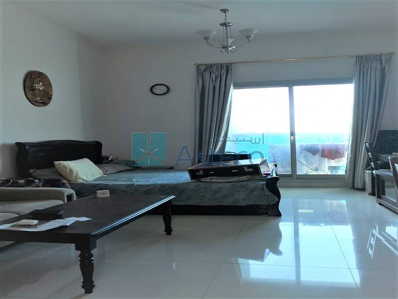 Fully Furnished Studio  Balcony  Canal View