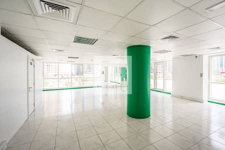 Office for Rent in Jumeirah Lake Towers (JLT), Dubai - Fitted Office   1s Floor   Podium Access