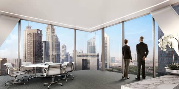 مکتب  للايجار في مركز دبي المالي العالمي، دبي - ICD Brookfield Place