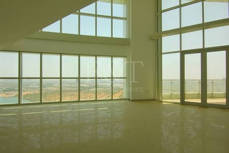 5 Bedroom Penthouse for Sale in Al Reem Island, Abu Dhabi - One of a Kind SeaView Duple Penthouse