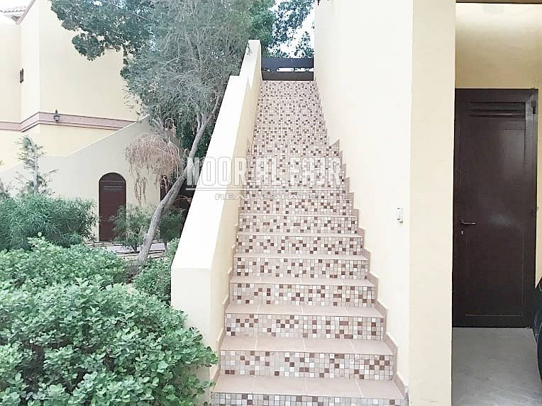2 12chq/ 1 month free/ 2 bedroom first floor villa in Shorooq