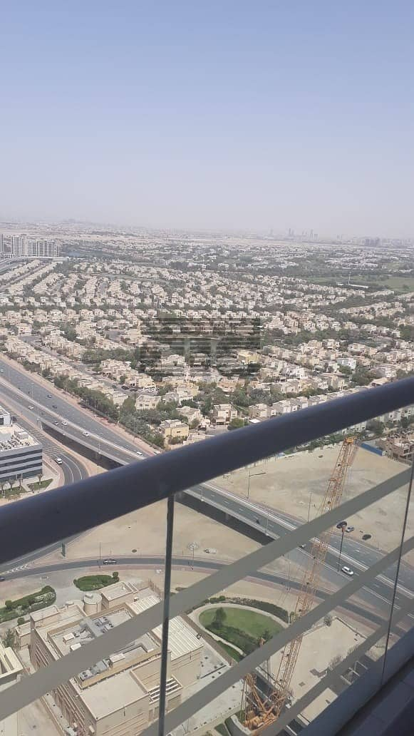 20 CONCORD TOWER FULLY FURNISHED WITH BALCONY  FOR RENT IN JLT@80000