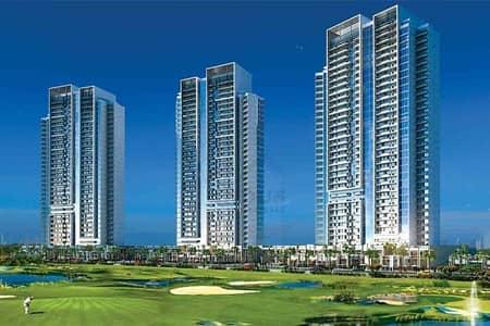 فلیٹ 1 غرفة نوم للبيع في داماك هيلز (أكويا من داماك)، دبي - 50% Post-Handover over 2 Yrs | Damac Carson Apartments