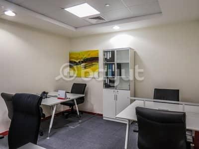 مکتب  للايجار في الخليج التجاري، دبي - مکتب في برج أوبال الخليج التجاري 5000 درهم - 4114451