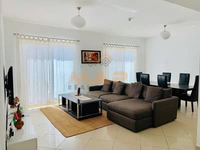 2 Bedroom Apartment for Sale in Jumeirah Lake Towers (JLT), Dubai - Fully furnished 2bhk + maids room with balcony on high floor close to metro
