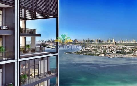 3 Bedroom Flat for Sale in The Lagoons, Dubai - Creek Front Residence | Amazing Dubai Skyline View
